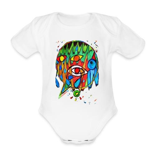 Vogel - Baby Bio-Kurzarm-Body