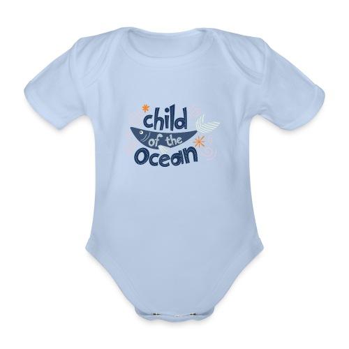 ChildOfTheOcean - Body Bébé bio manches courtes