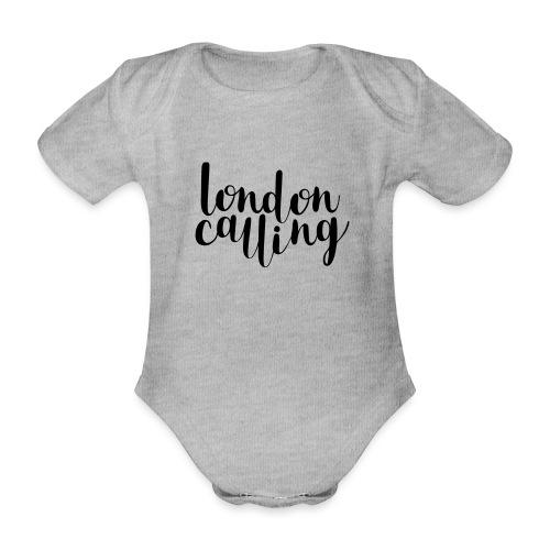 London Calling - Baby Bio-Kurzarm-Body