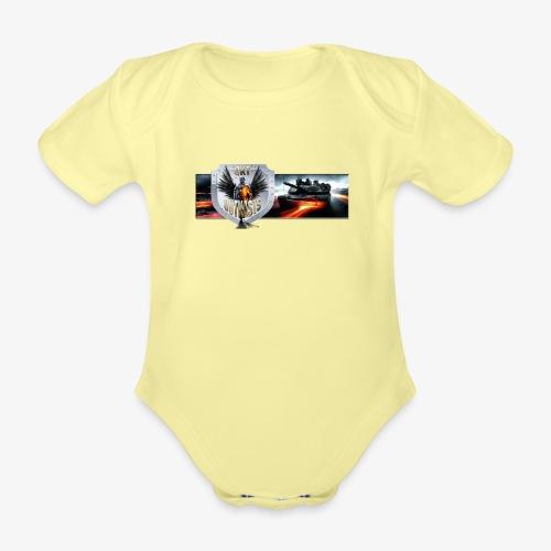 outkastbanner png - Organic Short-sleeved Baby Bodysuit