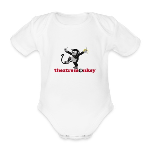 Sammy is Happy! - Organic Short-sleeved Baby Bodysuit