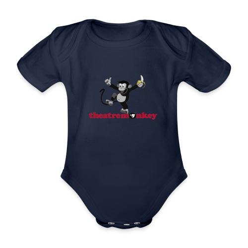 Sammy is Happy! - Organic Short-sleeved Baby Bodysuit