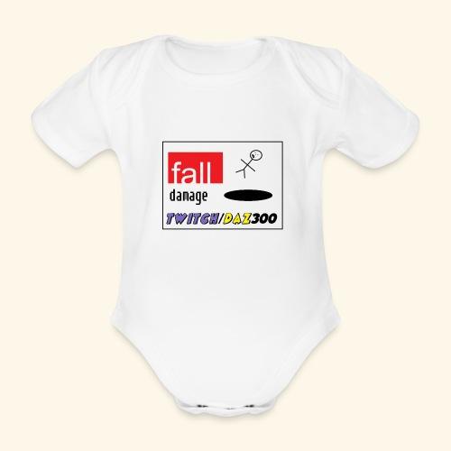 fall2 - Organic Short-sleeved Baby Bodysuit