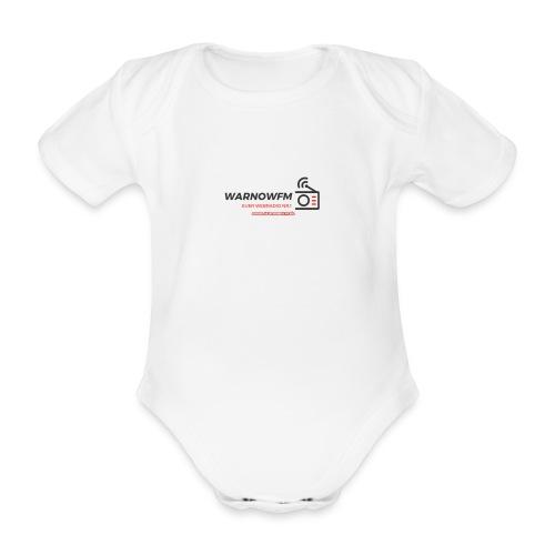 black simple radio outline - Baby Bio-Kurzarm-Body