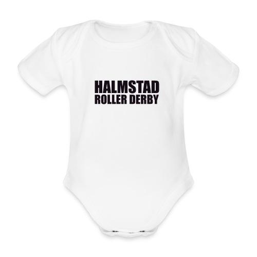 textlogga L - Ekologisk kortärmad babybody