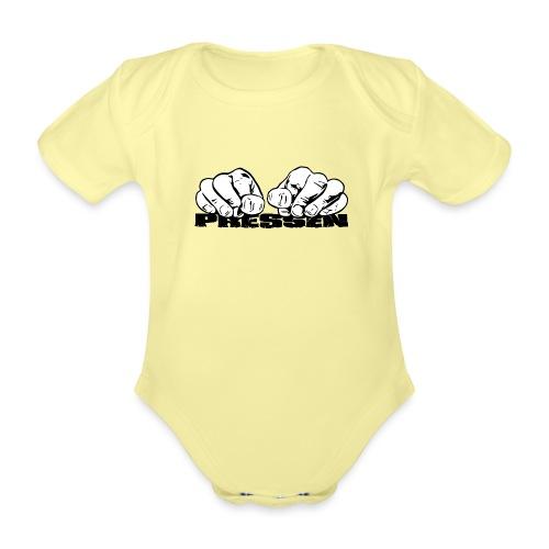 Pressen ist angesagt - Baby Bio-Kurzarm-Body
