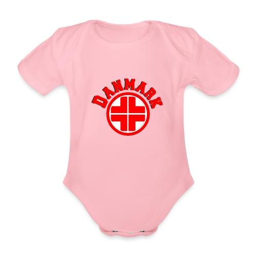 Denmark - Organic Short-sleeved Baby Bodysuit