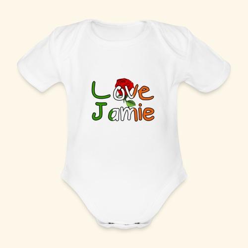 Jlove - Organic Short-sleeved Baby Bodysuit