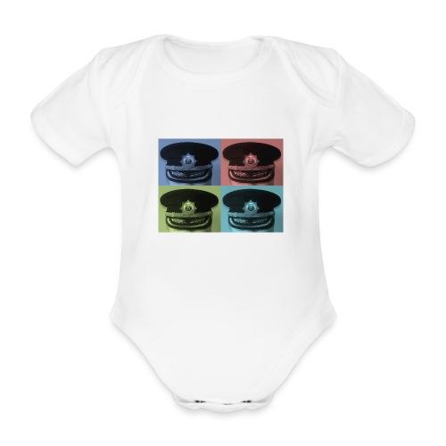 kepis - Body orgánico de manga corta para bebé