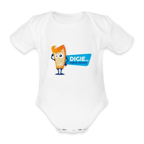 Digie.be - Baby bio-rompertje met korte mouwen