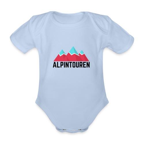 Alpintouren - Baby Bio-Kurzarm-Body