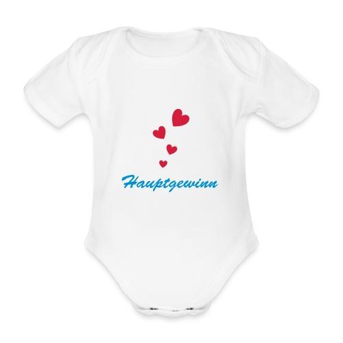 Hauptgewinn - Baby Bio-Kurzarm-Body