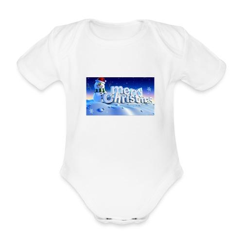 Shairon - Baby bio-rompertje met korte mouwen