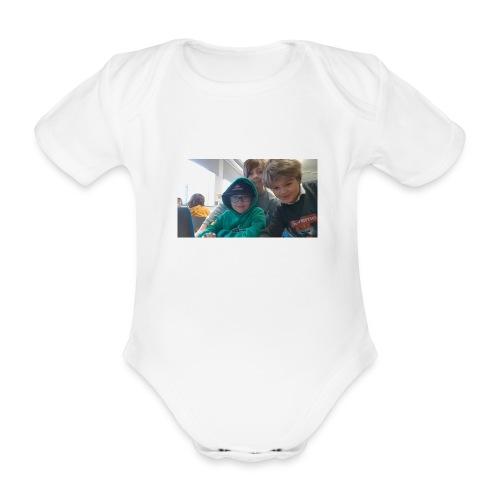 hihi - Ekologisk kortärmad babybody