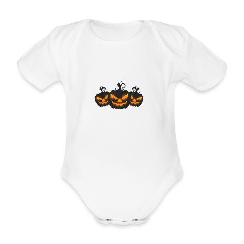 Halloween - Organic Short-sleeved Baby Bodysuit