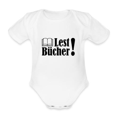 Lest Bücher ! 2 - Baby Bio-Kurzarm-Body