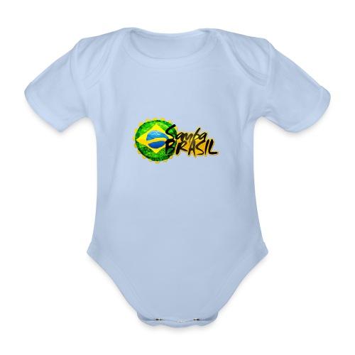 Rio de Janeiro Samba - Organic Short-sleeved Baby Bodysuit
