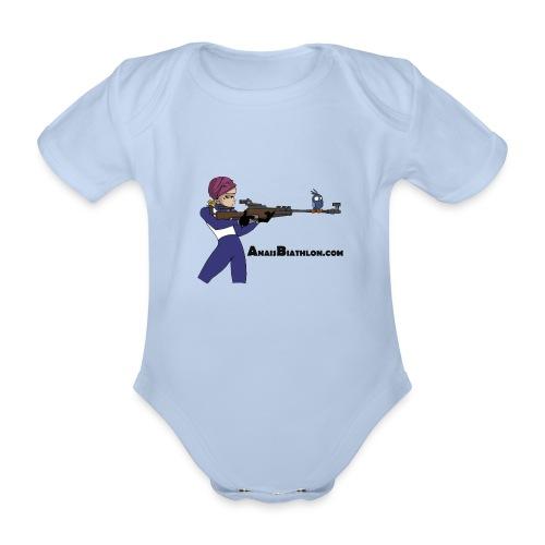 anaisbiathlon2 - Body Bébé bio manches courtes