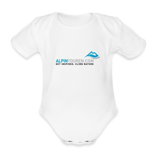 Alpintouren Logo - Baby Bio-Kurzarm-Body
