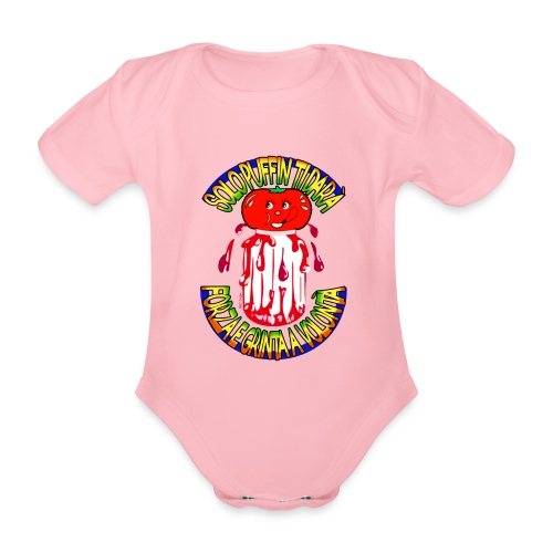 Puffin - Body ecologico per neonato a manica corta