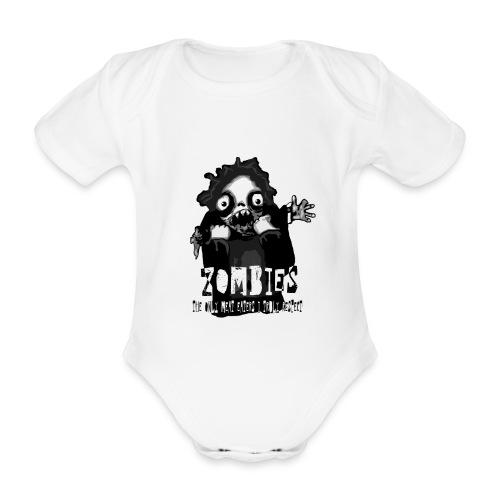 zombies - the only meat eaters i truly respect sv - Ekologisk kortärmad babybody
