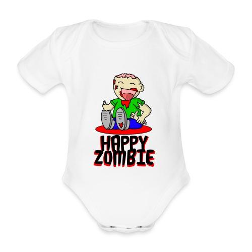 HappyZombie - Baby Bio-Kurzarm-Body
