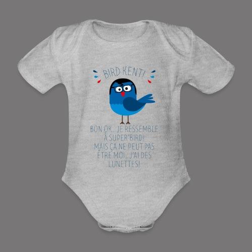 Bird Kent - Body Bébé bio manches courtes