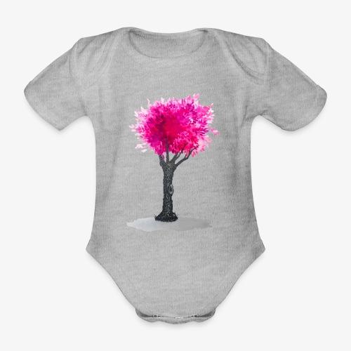 Tree - Organic Short-sleeved Baby Bodysuit