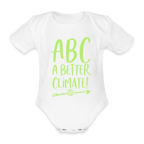 ABC a better climate - my days for future - Baby Bio-Kurzarm-Body
