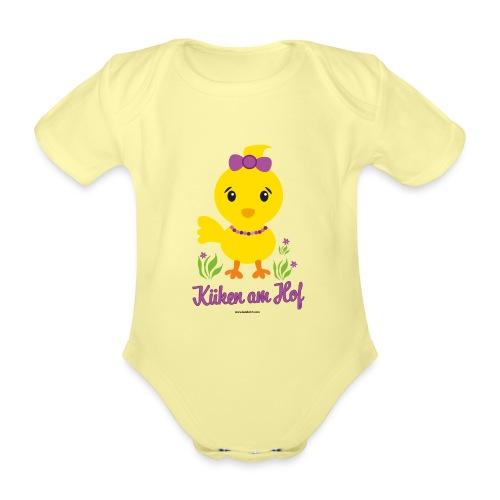 Ostern für kleine Mädchen - Baby Bio-Kurzarm-Body