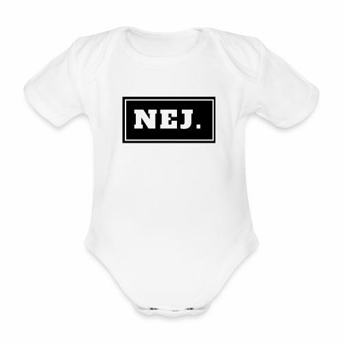 NEJ - Ekologisk kortärmad babybody
