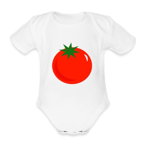 Tomate - Body orgánico de manga corta para bebé