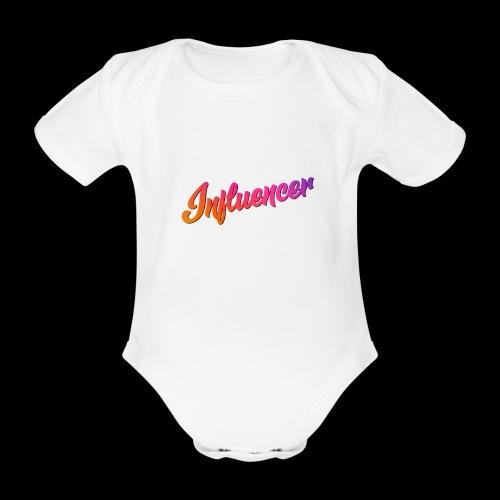 Influencer Instagram Youtube Youtuber - Baby Bio-Kurzarm-Body