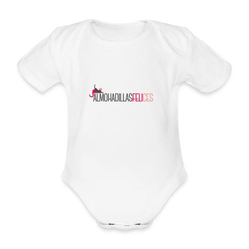 Almohadillas Felices Básico - Body orgánico de manga corta para bebé