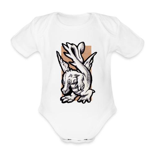 dragolino - Body ecologico per neonato a manica corta