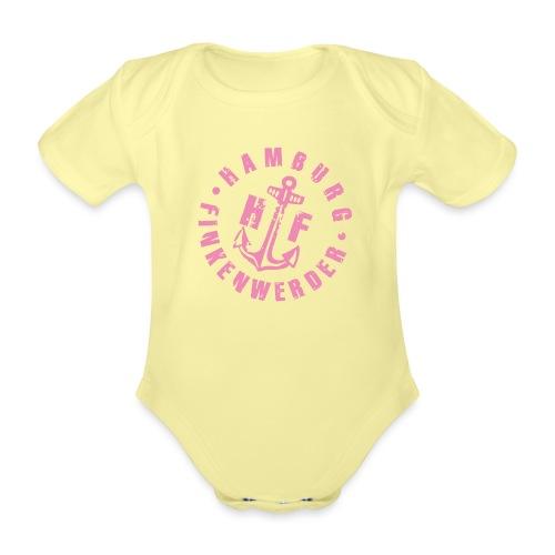 HF rosa - Baby Bio-Kurzarm-Body