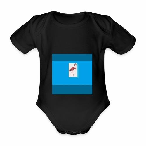 Flamingoscotteri - Body ecologico per neonato a manica corta