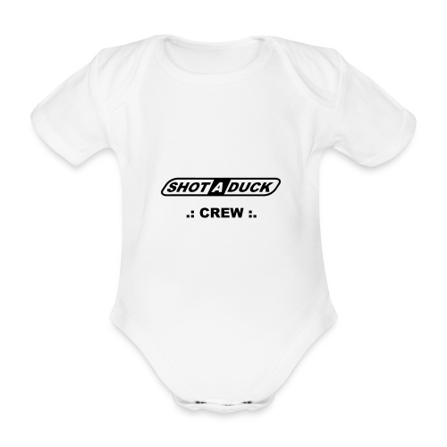 shotaduck sadshirt crew - Baby Bio-Kurzarm-Body