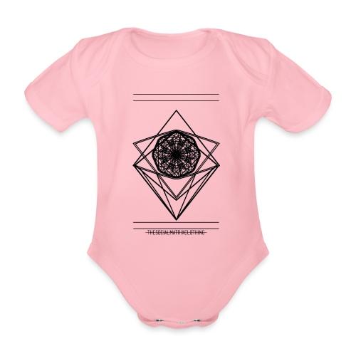 VISION - Baby bio-rompertje met korte mouwen