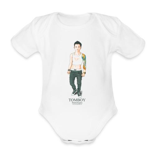 Tomboy. Stereotypes Collection. - Body orgánico de manga corta para bebé