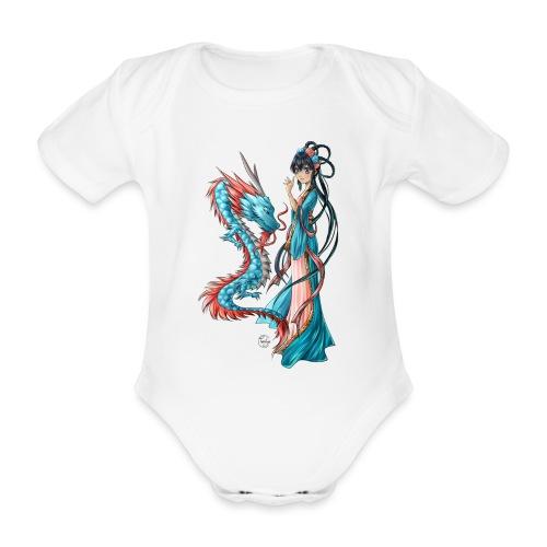 Blue Dragon - Body Bébé bio manches courtes