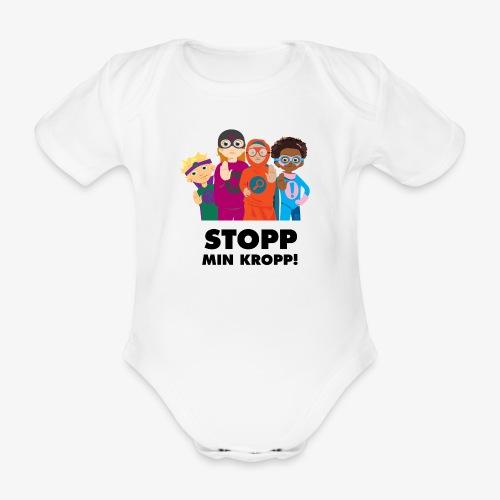 Stopp min kropp! - Ekologisk kortärmad babybody