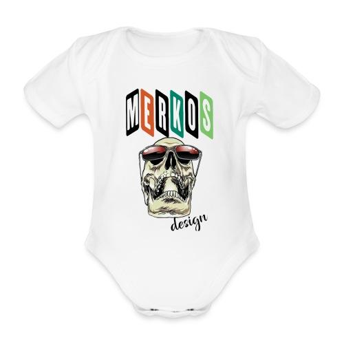 MERKOS - Body orgánico de manga corta para bebé
