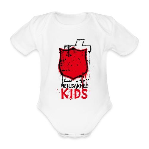 Kids Shirts Shield - Baby Bio-Kurzarm-Body