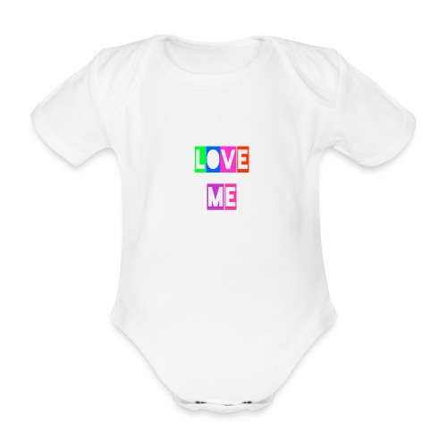 LoveMe - Body orgánico de manga corta para bebé