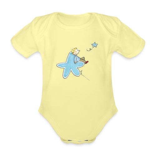048 Enfant étoile - Body Bébé bio manches courtes