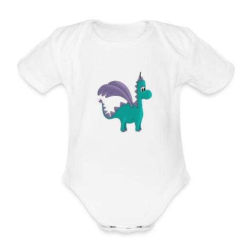 Drachenmädchen Ellie - Baby Bio-Kurzarm-Body