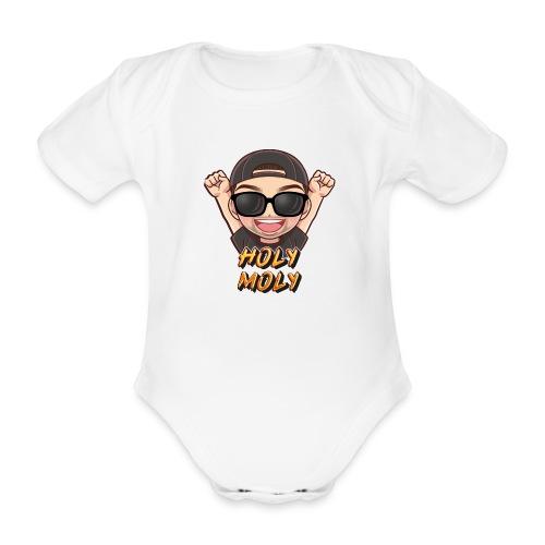 Nachi holymoly - Baby Bio-Kurzarm-Body