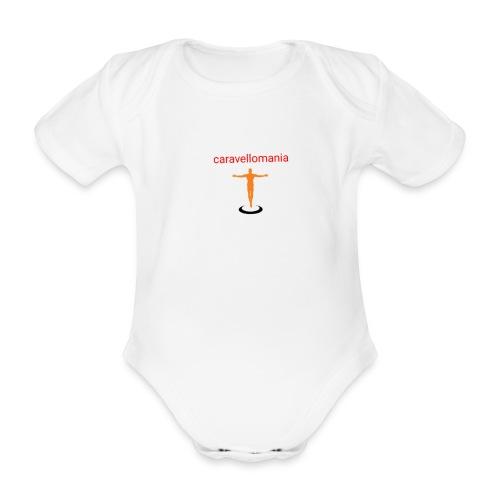 CARAVELLOMANIA - Body ecologico per neonato a manica corta