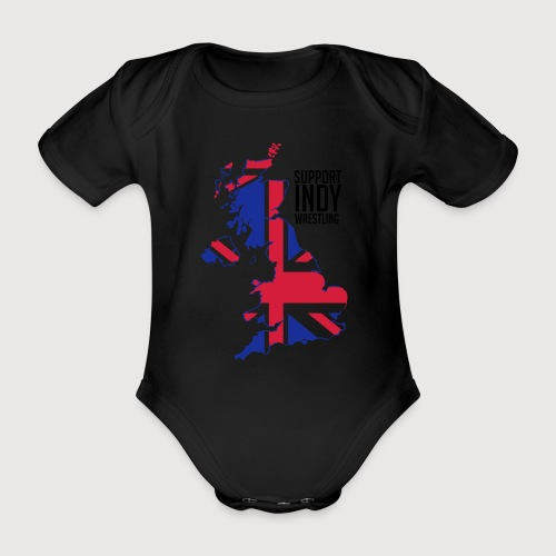 Indy Britain - Organic Short-sleeved Baby Bodysuit